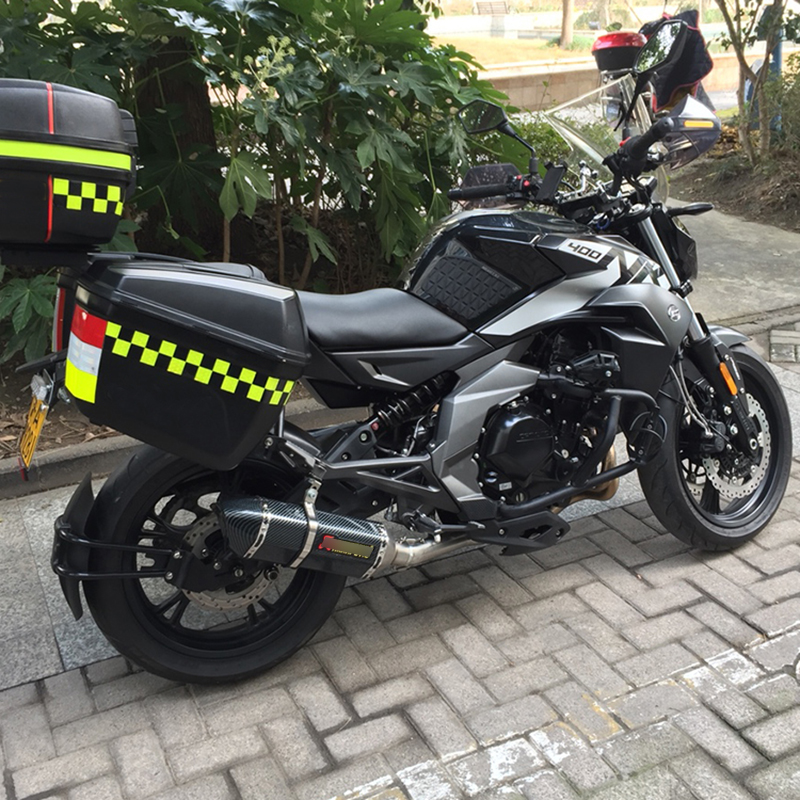 Силп для 400/650nk мотоцикла из нержавеющей стали средней соединительной