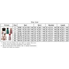 2019 Casual Maxi vestido bohemio estampado 4XL 5XL talla grande Boho verano bata mujeres vestido elegante vestidos largos ropa de playa vestidos