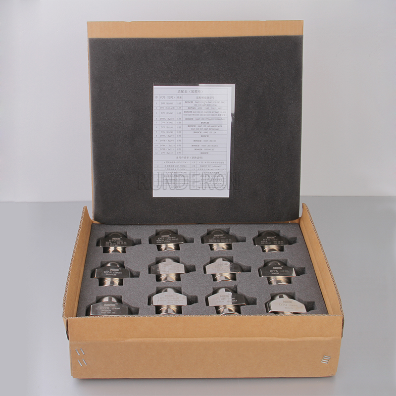 Image 4 - RUNDERON Common Rail Fuel Injector Clamping Disassembly Assembly Repair Tool Kits for B0SCH DENS0