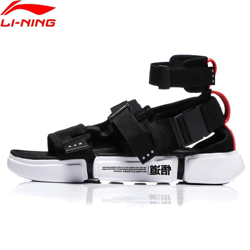 Li-Ning Men PFW ESSENCE 2.0 PLATFORM Basketball Leisure Shoes Light Wearable LiNing Li Ning Sport Shoes Sneakers AGBN079 YXB221