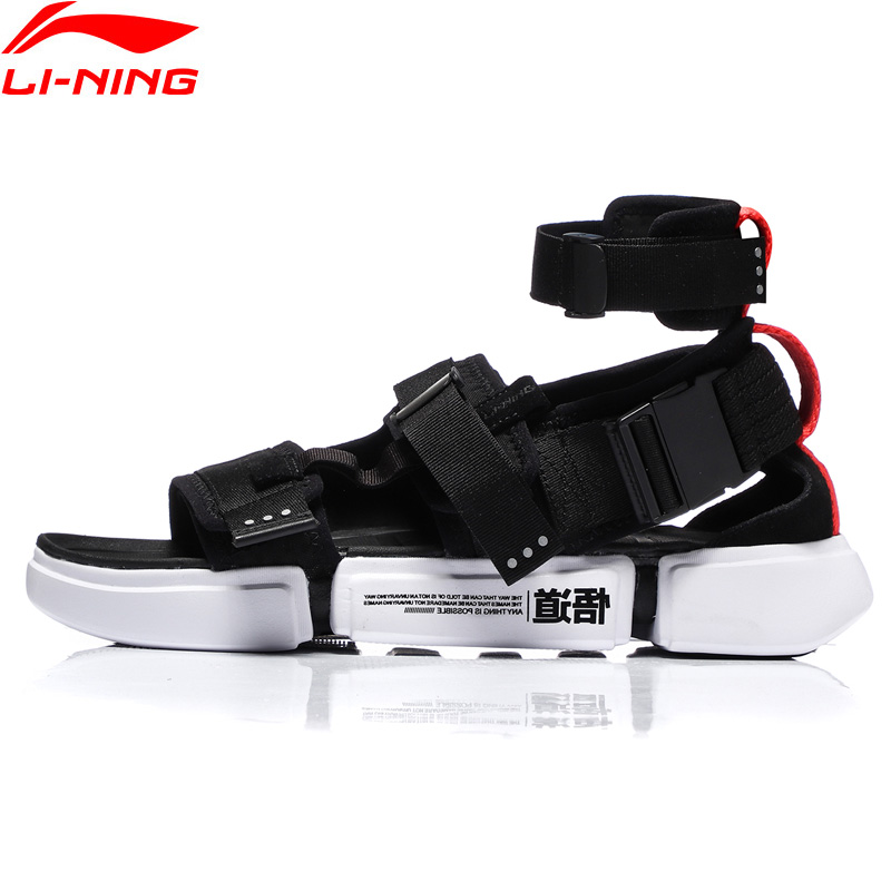 Li-Ning <font><b>Men</b></font> PFW ESSENCE 2.0 PLATFORM Basketball Leisure <font><b>Shoes</b></font> Light Wearable <font><b>LiNing</b></font> li ning Sport <font><b>Shoes</b></font> Sneakers AGBN079 YXB221 image