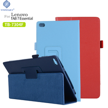 PU Case cover for Lenovo Tab 7 Essential TB-7304 TB-7304F TB-7304NTB-7304X (2017 release) Flip For TAB4