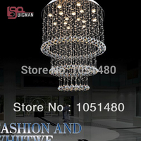 Wholesales Guaranteed 100 K9 Crystal Contemporary Chandeliers Living Room Modern Bedroom Lamp Free Shipping