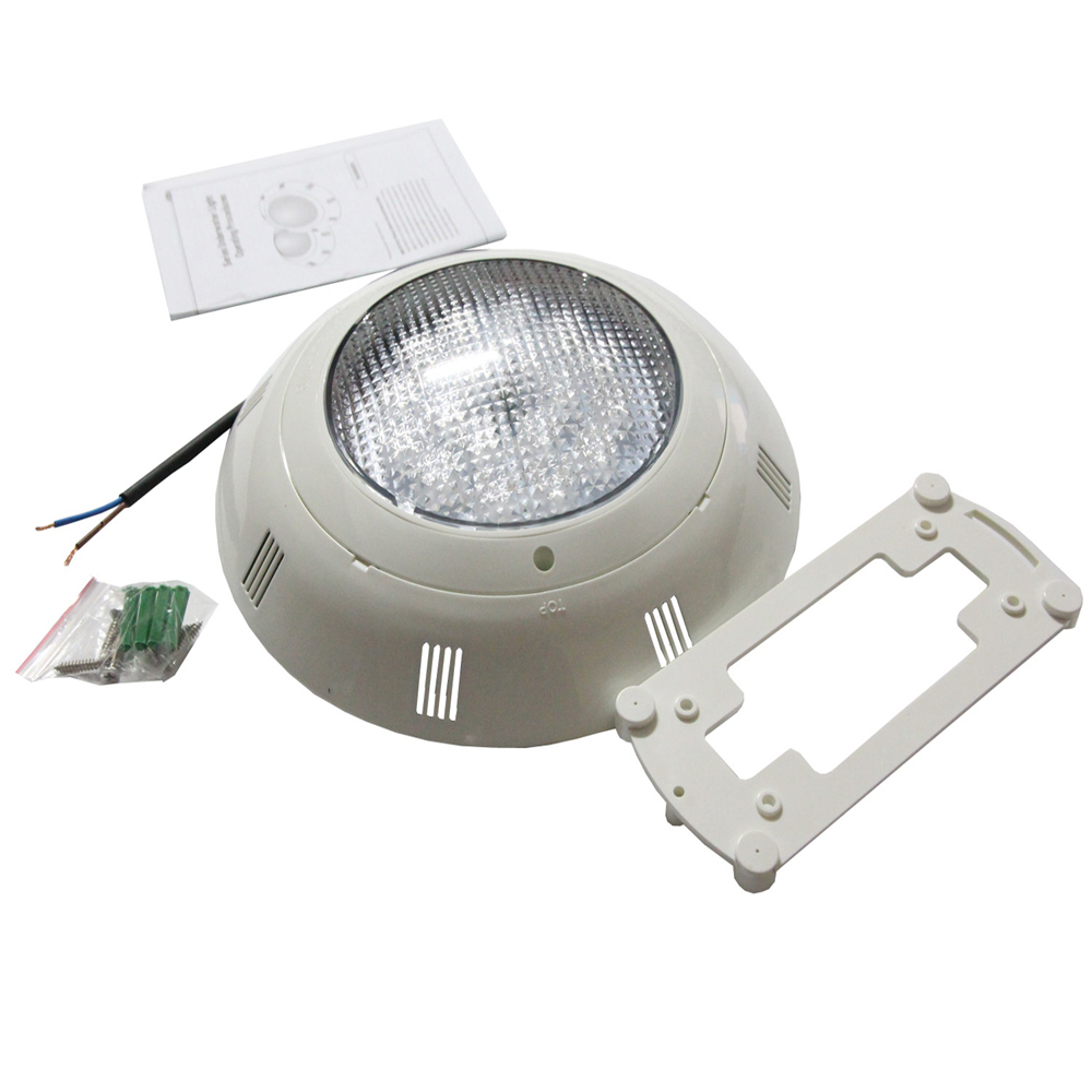 IP68 LED Pool Light 24W 36W 48W 60W 72W Surface Mounted Flat Spotlight RGB RGBW Synchronous Warm Cold White|LED Underwater Lights| |  - title=