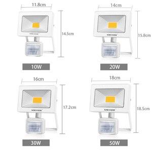 Image 2 - 10W 20W 30W 50W HA CONDOTTO LA Luce di Inondazione con Sensore di Movimento AC110V 220V HA CONDOTTO Il Proiettore Impermeabile faretto per esterni per il Giardino