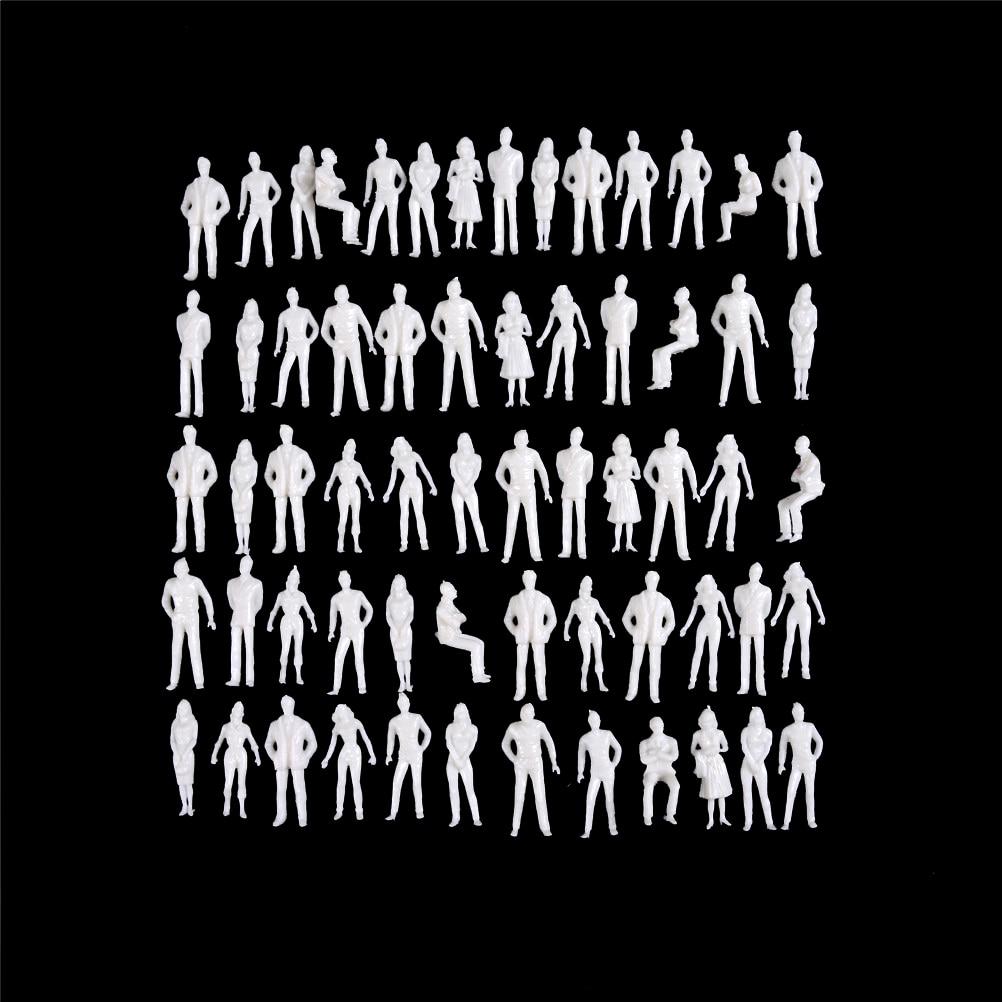 10Pcs/lot 1:50 scale model miniature white figures Architectural model human scale model ABS plastic peoples 10pcs lot richtek model code 10 10d 10g 10w 10 dfn 6