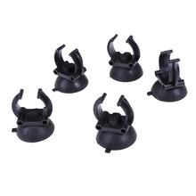 5Pcs Aquarium Sucker Suction Cup For Air Line Pipe Tube Wire Holder LED Lights Heating Rods Clip(China)