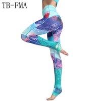 Yoga Pants Women Widen Waist Compression Sport Tights Yoga Sportswear High Waist Fitness Leggings Push Hip