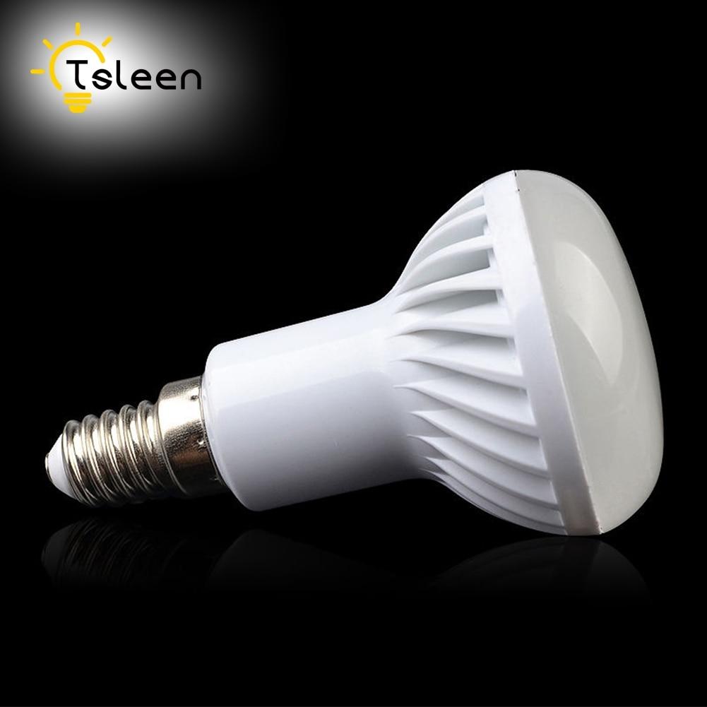 TSLEEN E14 E27 220V 110V светодио дный лампа лампочка Base разъем 3 Вт 5 Вт 7 Вт 9 Вт 12 Вт теплый белый холодный белый светодио дный прожектор R50 R63 R80