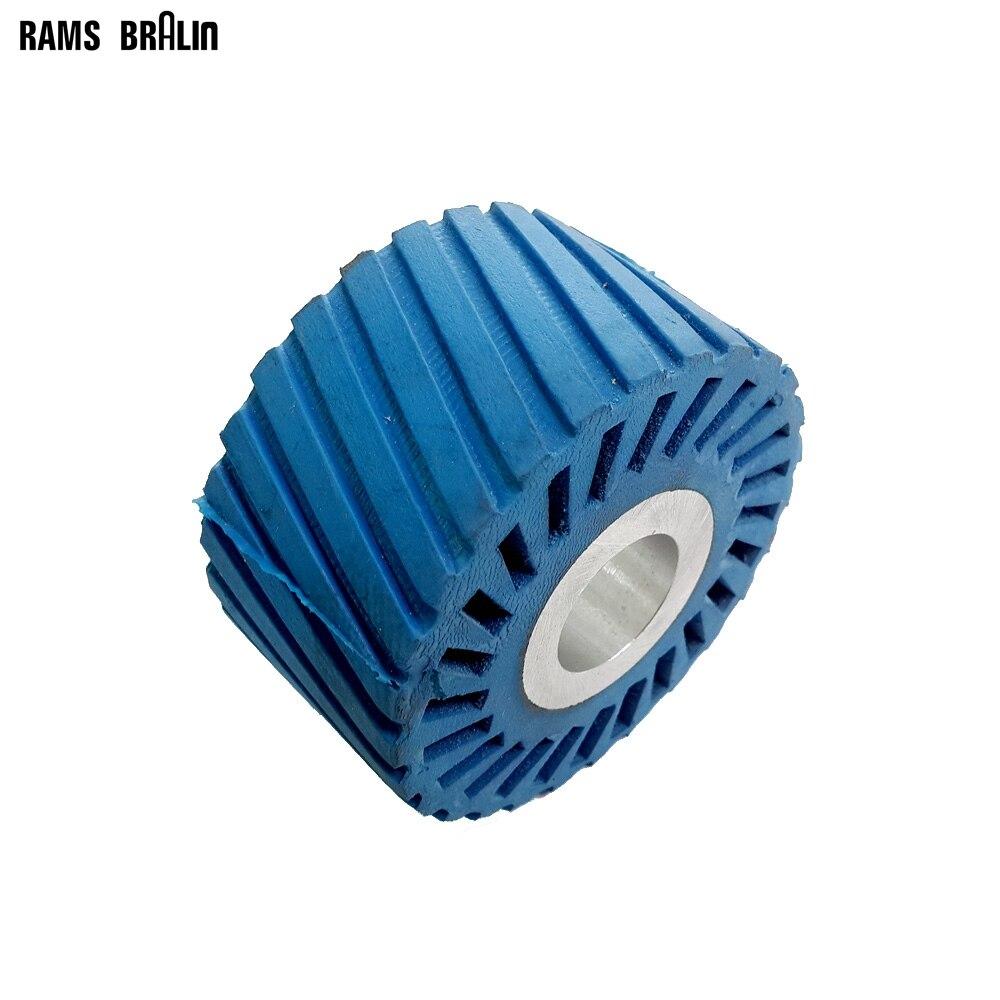 85*50*25.4mm Rubber Wheel Sanding Sleeves Sander Polisher Polishing Wheel