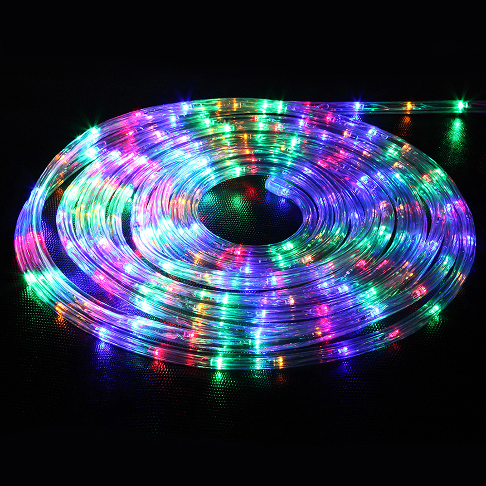 Free shipping 10m100led flexible rope light indoor outdoor free shipping 10m100led flexible rope light indoor outdoor lighting garden patio christmas new year party led string light in lighting strings from aloadofball Gallery