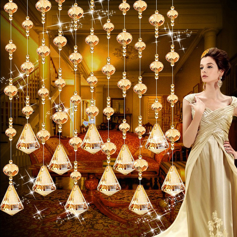 Wedding Altar Sims: 1m Crystal Glass Bead Curtains For The Living Room Channel