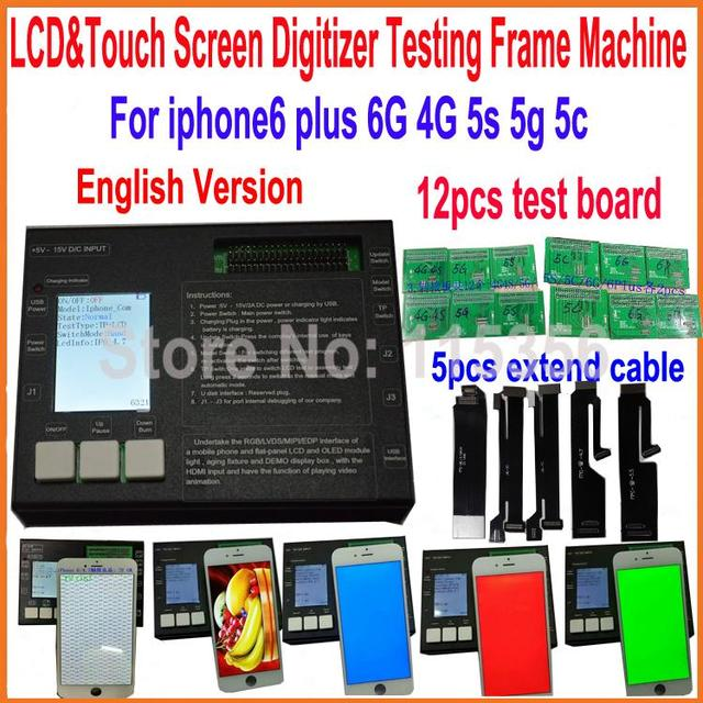 8 In 1 Lcd Display Digitizer Touch Screen Test Board Lcd Tester