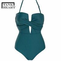 one piece suits Trikini Sexy swimsuit women One Piece Swimsuit Plus Size Swimwear May Monokini one shoulder swimsuits Swim Suit
