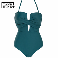 one piece suits Trikini Sexy swimsuit women One Piece Swimsuit Plus Size Swimwear May Monokini one shoulder swimsuits Swim Suit