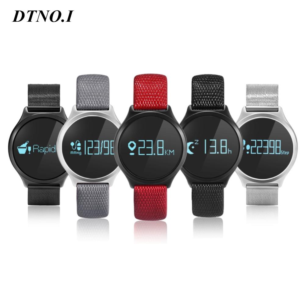 M7 bluetooth inteligente pulseira esporte smart watch pressão arterial/heart rate monitor touch screen rodada smartband para android ios