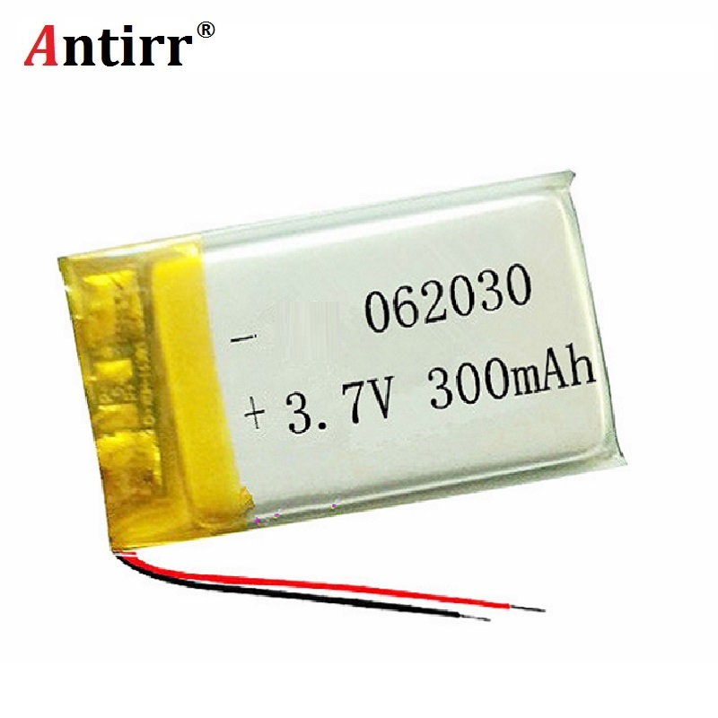 3.7V 300mAh <font><b>602030</b></font> Lithium Polymer Li-Po li ion Rechargeable Battery cells For Mp3 MP4 MP5 GPS PSP mobile bluetooth free shiping image