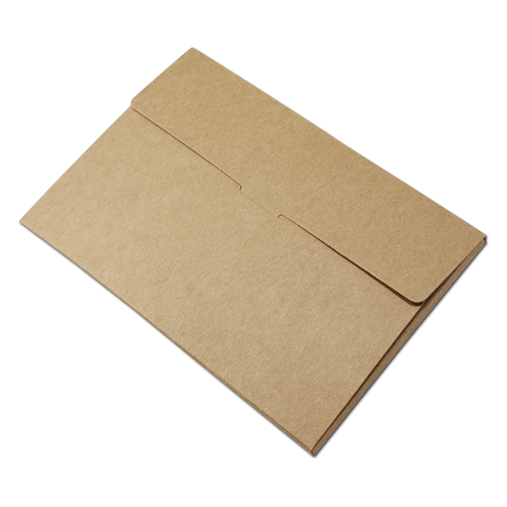 300pcs wholesale blank kraft paper postcard box photo greeting card 300pcs wholesale blank kraft paper postcard box photo greeting card packaging display storage holder with window 10215505cm in gift bags wrapping m4hsunfo