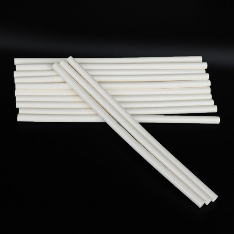 10pcs stick di colla a caldo bianco lattiginoso 11x300mm 150 gradi - Utensili elettrici - Fotografia 6