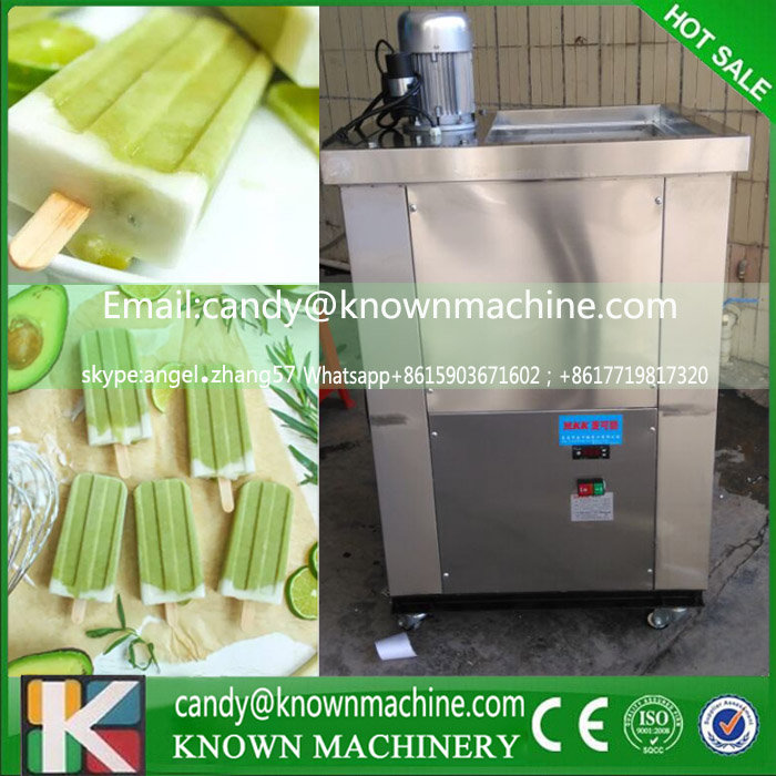 double moulds commercial Ice cream popsicle machine ice lolly machine (free shipping by sea) good feedback high quality machine for popsicle ice lolly machine