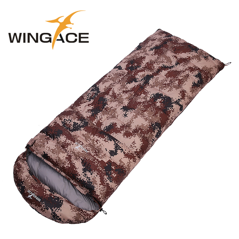 Fill 400G 800G 1200G 1500G 1800G ultralight goose down camping outdoor envelope fall Travel sleep adult sleeping bags custom
