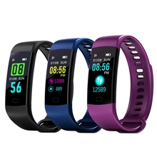 Hiwego Y5 Smart Band Men Watch Color Screen Wristband Heart Rate Activity Fitness tracker Electronics Bracelet for Xiaomi 2018