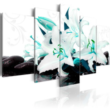5 pieces/set Classic floral poster Picture Print Painting On Canvas Wall Art Home Decor Living Room PJMT-B (247)