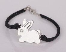 Lovely Rabbit Bracelet 2018 New Listing Hot Sale Handmade Rope Bracelets Jewelry for Men and Women YP2542