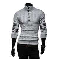 Mens Sweaters 2017 New Men S Fashion Winter Coat Long Sleeved Sweater Men S Jacket Casual