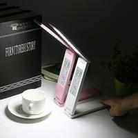 2 Colors FX010B Folding 2W LCD Display LED Table Lamp Child Eye Protection Light Desk Lamp