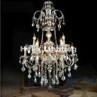 Hot Selling 12 Light Chandelier Luxury K9 Crystal Chandelier Lighting D700MM H1070MM E14 LED Modern Crystal