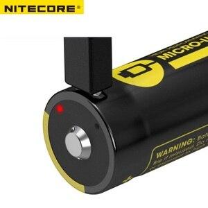 Image 3 - Batteria agli ioni di litio ricaricabile micro usb ad alte prestazioni NITECORE NL1835R/NL1834R/NL1826R 3.6V 18650