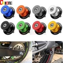 купить Motorcycle Accessories 6 8 10 mm CNC Swingarm Spools slider For yamaha MT09 MT-09 MT 09 FZ09 FZ 09 FZ-09 mt07 mt-07 mt 07 fz по цене 304.16 рублей