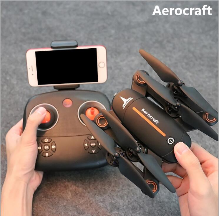 New WIFI real time selfile RC drone XS809W upgrade 2.4G 4CH HD camera Foldable Altitude Hold dual Control RC quadcopter vs X5UW jjrc h39wh h39 foldable rc quadcopter with 720p wifi hd camera altitude hold headless mode 3d flip app control rc drone