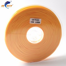 Free Shipping 150m 300LB 140KG 0.95MM 1MM 12Strand UHMWPE Spectra Hollow Braid Rope Fishing Line Orange Color 150M Spool(China)