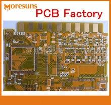 PCB personnalisé FR4 HASL ENIG 4 couches, avec contrôle d'impédance, PCB multicouche pcba/rigide baord PCBA, Fabrication de pcb
