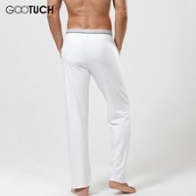 Men's Modal Pajamas Pants Comfortable Male Long Johns Man See Through Sleep Bottoms 5XL 6XL Everyday Cuecas Underwear G-3007