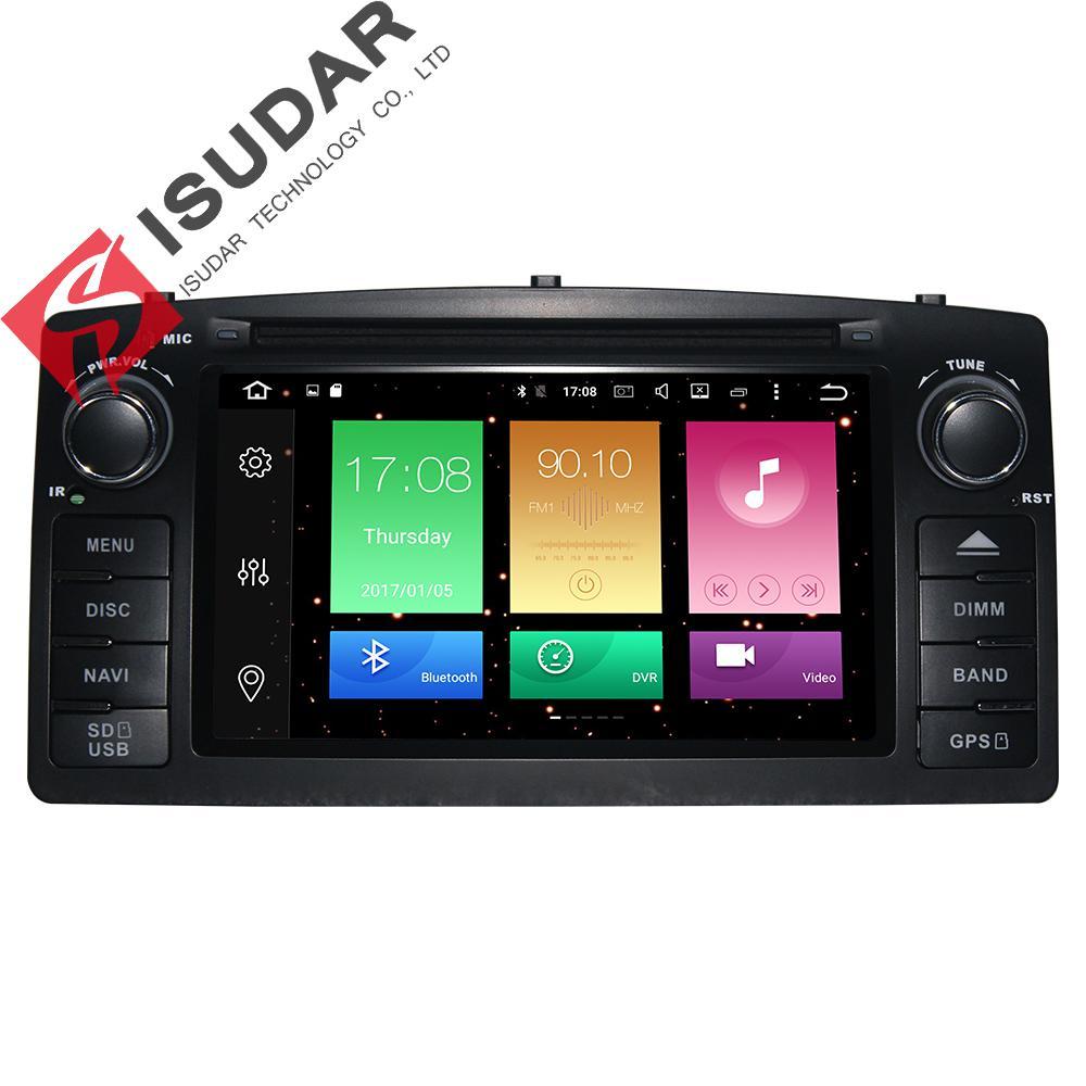 imágenes para Android 6.0 Dos Din 6.2 Pulgadas de Coches Reproductor de DVD Para BYD/F3 Para Toyota/Corolla E120 Octa Core 2G RAM 3G/4G GSP Radio