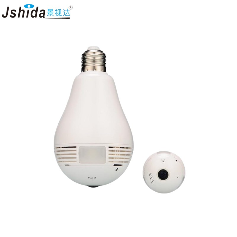 все цены на Bulb Light Wireless IP Camera Wi-fi FishEye 960P 360 degree Mini CCTV VR Camera 1.3MP Home Security WiFi Camera Panoramic SDcard