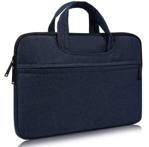 Image 1 - حقيبة لابتوب كم 13 13.3 14 14.1 15 15.4 15.6 بوصة دفتر شنطة لحمل macbook الهواء برو 13 15 Dell Asus HP أيسر حقيبة يد