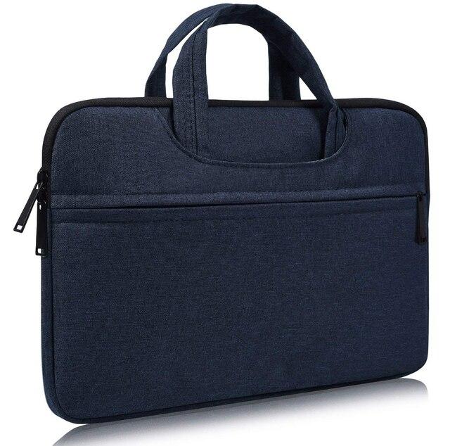 حقيبة لابتوب كم 13 13.3 14 14.1 15 15.4 15.6 بوصة دفتر شنطة لحمل macbook الهواء برو 13 15 Dell Asus HP أيسر حقيبة يد