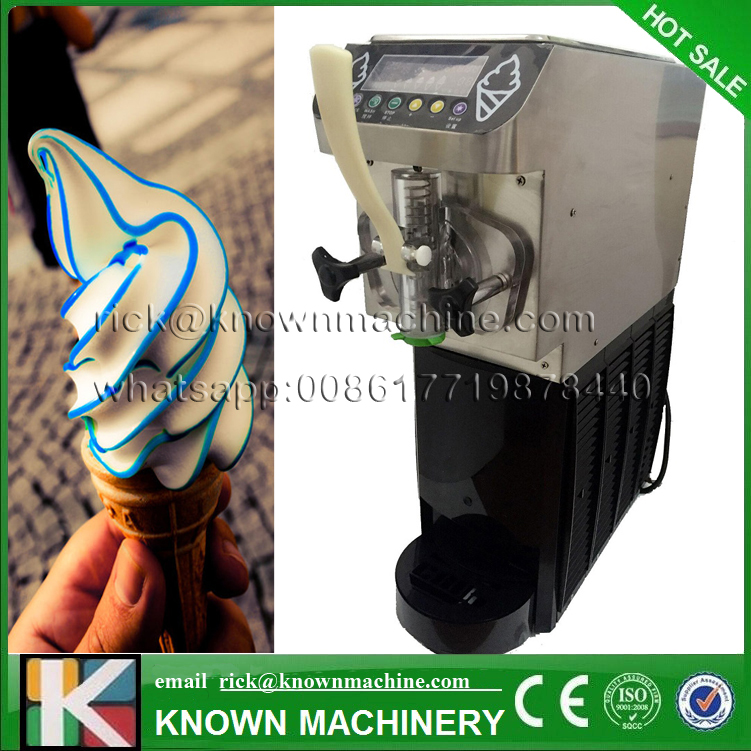 The best selling 5L soft small ice cream maker/making machine 1 flavor with CE certification free shipping to door купить