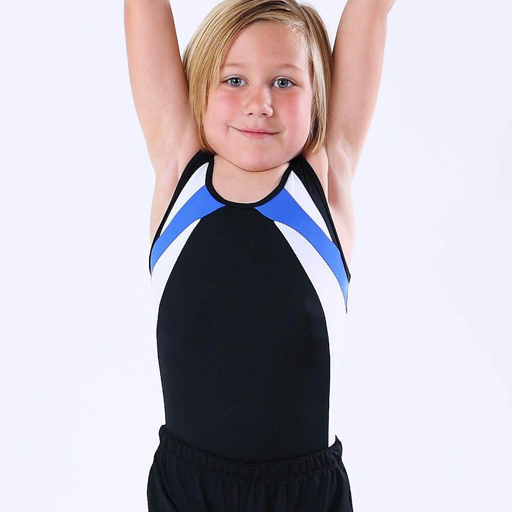 NT1804101 Boy's Basic Gymnastics Leotard Classic Ballet Morden Practice Atheletic Tank Bodysuit