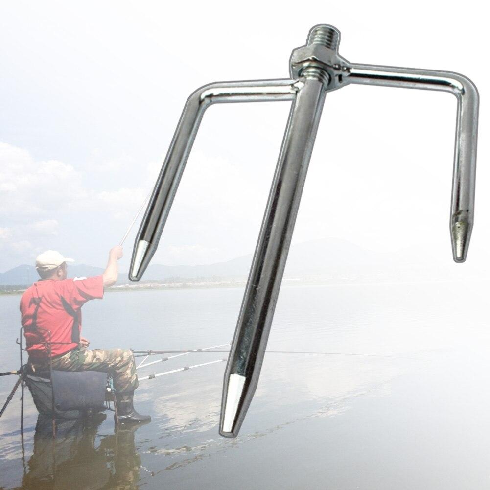 Giardino Antivento Parasole Universale In Metallo Accessori Pole Ombrello Terra Spike Basamento Outdoor Inserto Supporto Della Spina Pesca Dalla Spiaggia