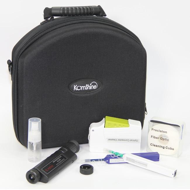 Komshine KIC-7E Fiber Optic Connector Inspection and Cleaning kit---Inspection+Cassette Cleaner+One Click CleanerKomshine KIC-7E Fiber Optic Connector Inspection and Cleaning kit---Inspection+Cassette Cleaner+One Click Cleaner