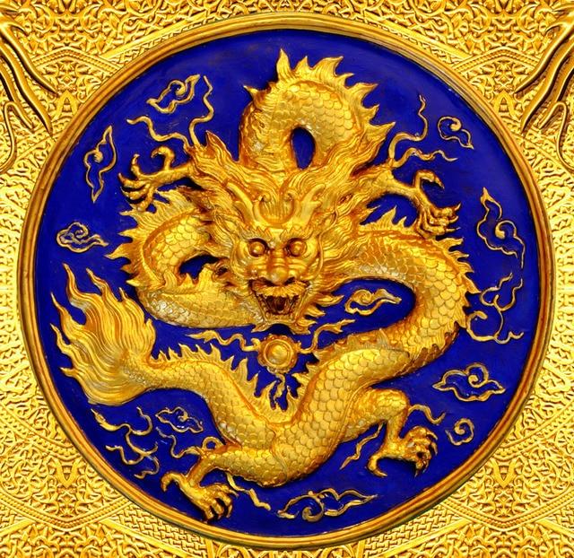 1829 25 De Réduction3d Papier Peint De Luxe Golden Dragon Photo Papier Peint Personnalisé Papier Peint Chambre Tv Toile De Fond Papier Peint