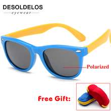 2019 Boy Girls Sunglasses Kids Sun Glasses Children Glasses Polarized Lenses Girls Boys Tr90 Silicone Child Mirror Baby Eyewear