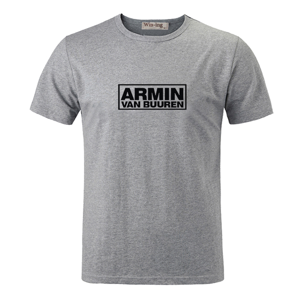 Armin Van Buuren Design men Short Sleeve Graphic Tee Tops Family Vacation Cosplay Tshirts For Boys