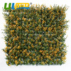 12pcs 50x50cm UV Proof Artificial Boxwood Mat Garden Decoration Plastic Garden Fence Fire Proof Greenery Wall