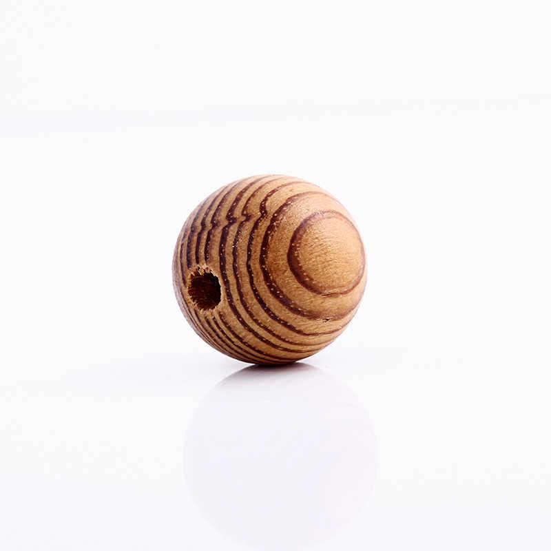 Pick Size 10/12/14/16/18/20mm Grenen Natuurlijke Ronde Hout Spacer houten kralen Fit voor armband ketting DIY sieraden Maken